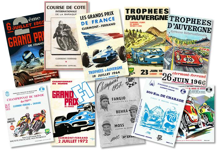 22 nouvelles affiches collector sur le Circuit de Charade